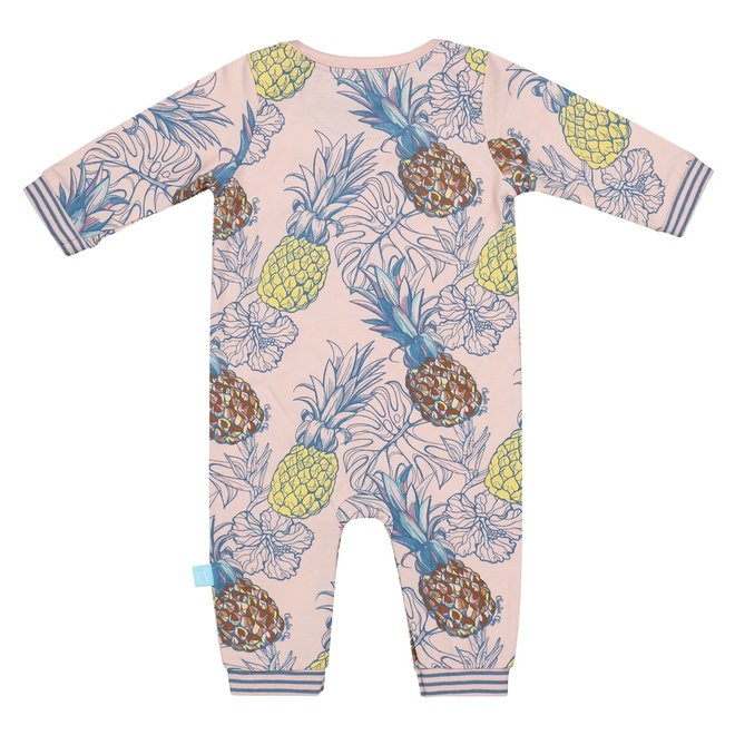 Charlie Choe Baby Mädchen Pyjamas rosa Ananas