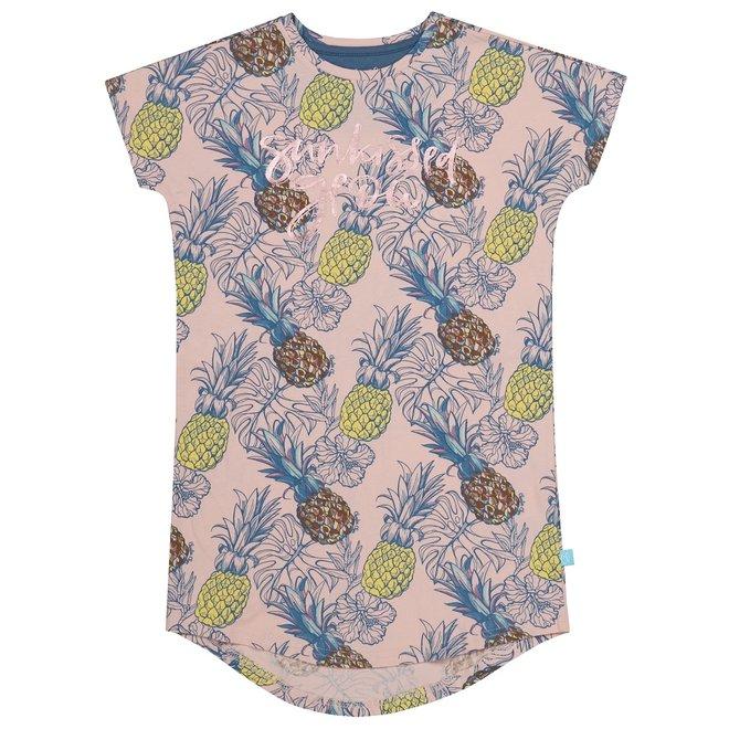 Charlie Choe Meisjes Nachthemd Roze Ananas