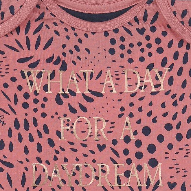 Charlie Choe Baby Meisjes Pyjama Roze Blauw Panter