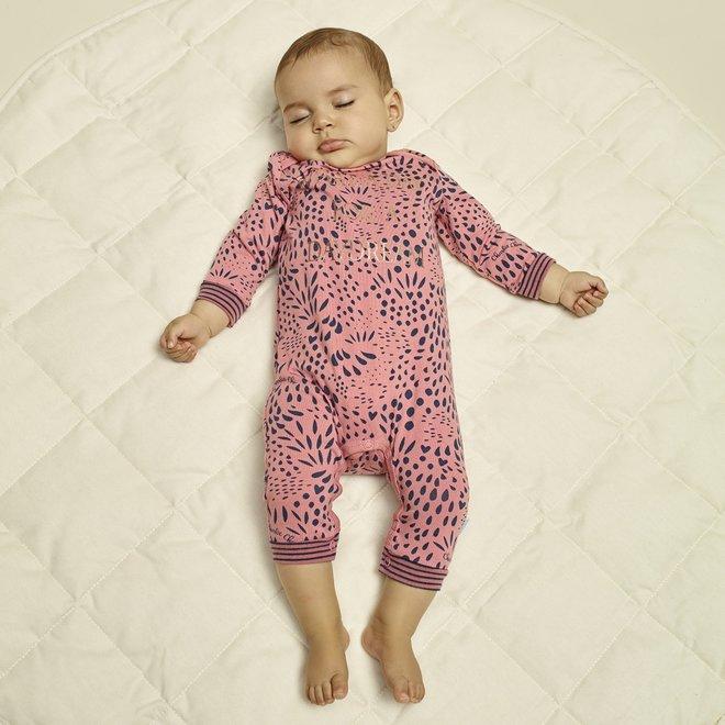 Charlie Choe Baby Mädchen Pyjamas rosa blau Panther