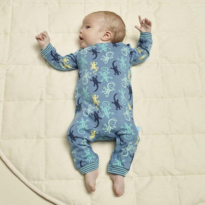 Charlie Choe Baby Junge Pyjamas Blau Eidechse