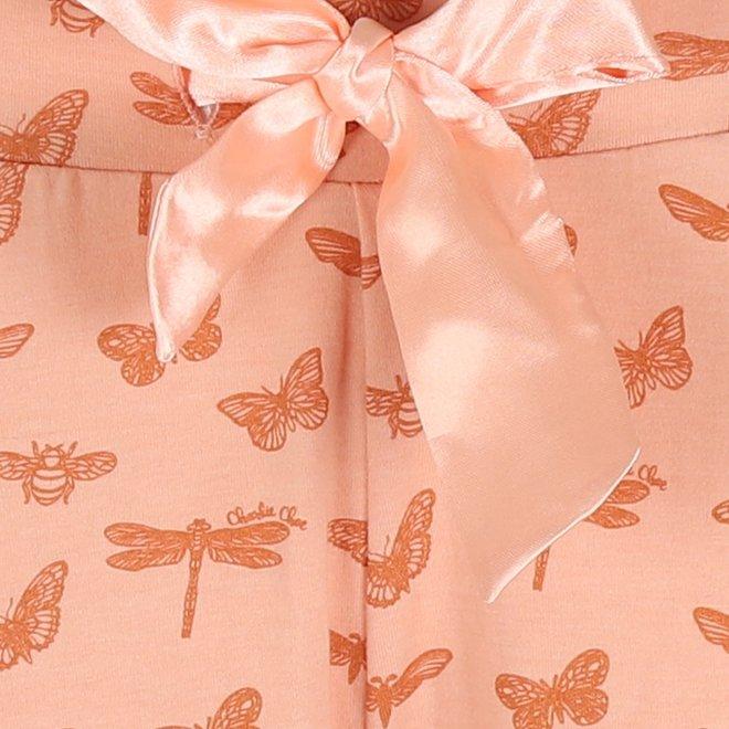 Charlie Choe Ladies Pyjama Pants Pink Butterfly