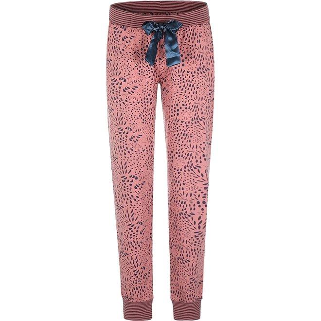Charlie Choe Damen Pyjamahose rosa blau Panther