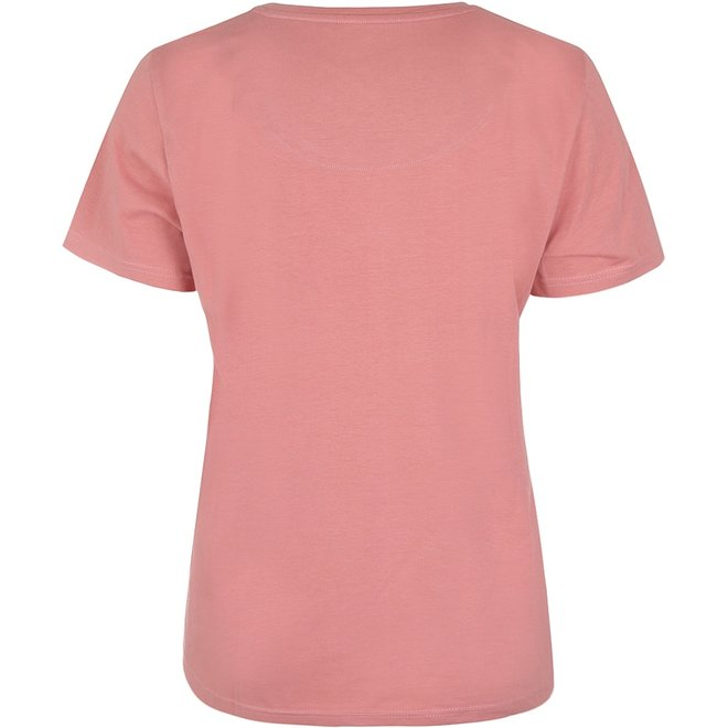 Charlie Choe Ladies Pyjama Pink Blue T-shirt