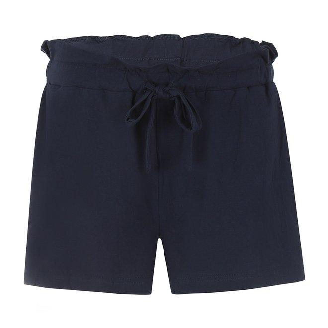 Charlie Choe Damen Pyjama kurz blau