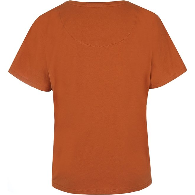 Charlie Choe Ladies Pyjama T-shirt Cognac