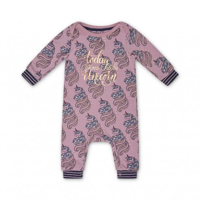 Charlie Choe Baby Girl Pink Unicorn Pyjamas