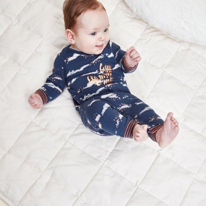 Charlie Choe Baby Girl Pyjamas Blue Clouds