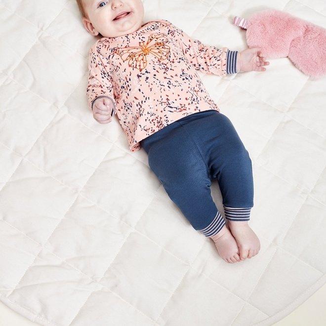 Charlie Choe Baby Girl Pyjama Set Pink Blue