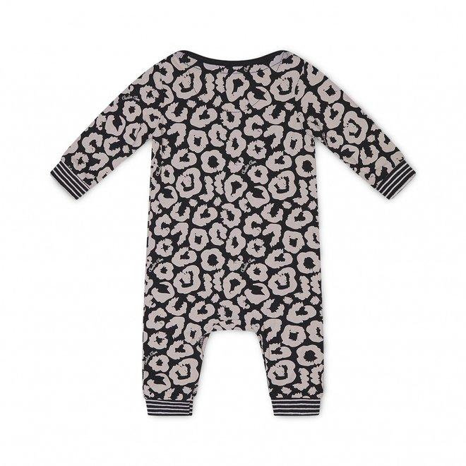Charlie Choe Baby Girl Pyjamas Black Pink Panther