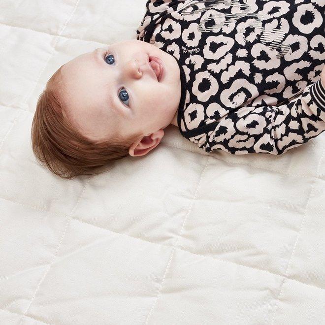 Charlie Choe Baby Meisjes Pyjama Zwart Roze Panter