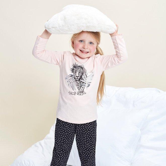 Charlie Choe Baby Mädchen Pyjamas Schwarzer Panther