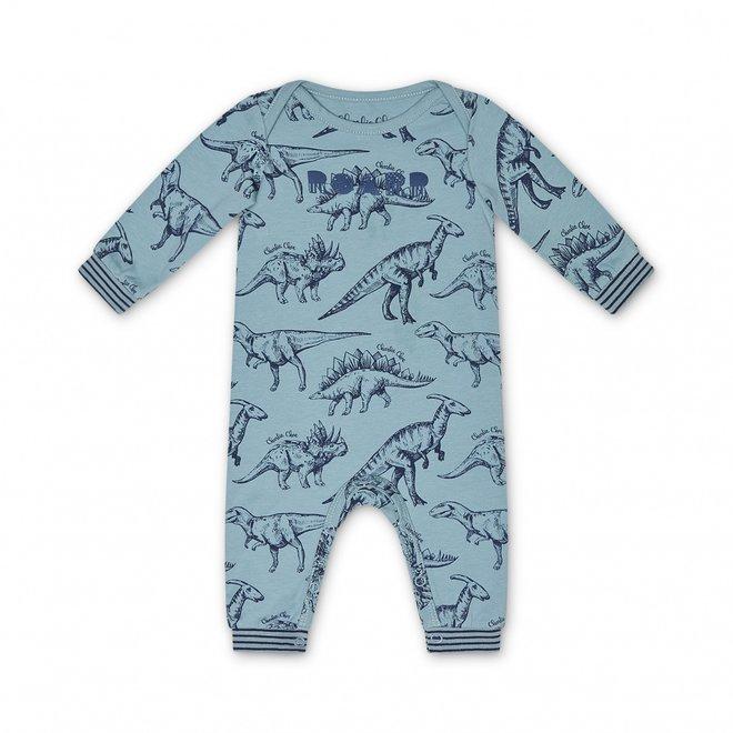 Charlie Choe Baby Jongens Pyjama Blauw Dino