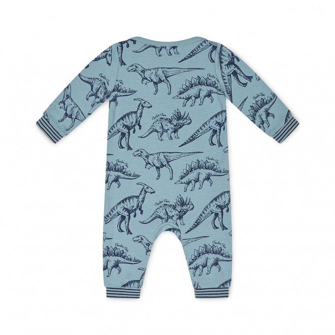 Charlie Choe Baby Junge Pyjamas Blau Dino