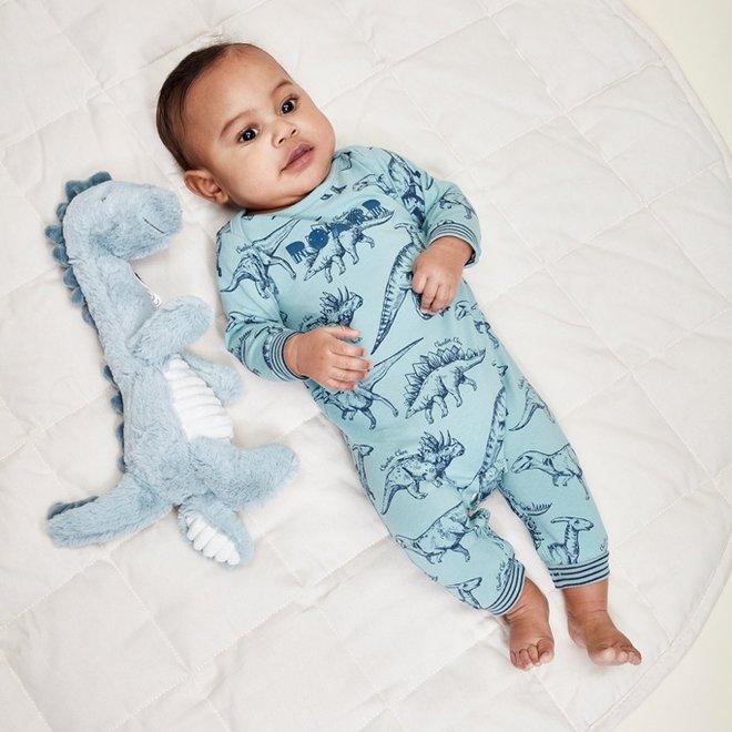 Charlie Choe Baby Boy Pyjamas Blue Dino