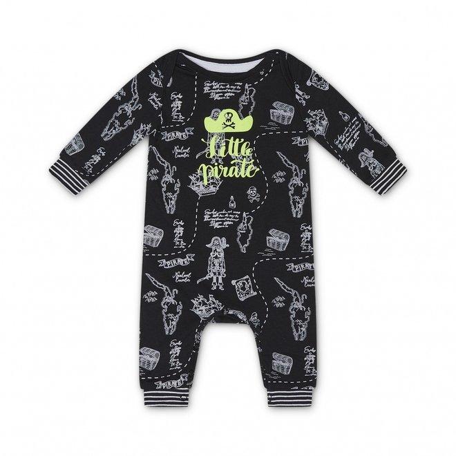 Charlie Choe Baby Boy Pyjamas Schwarzer Pirat
