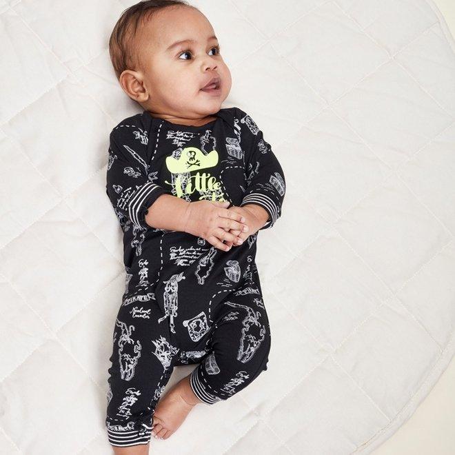 Charlie Choe Baby Boy Pyjamas Black Pirate