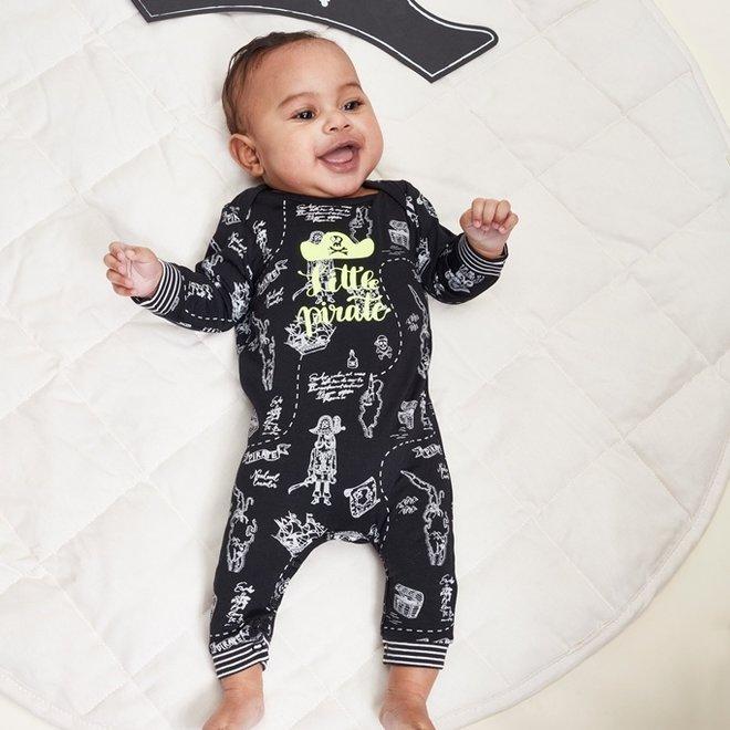 Charlie Choe Baby Jongens Pyjama Zwart Piraat