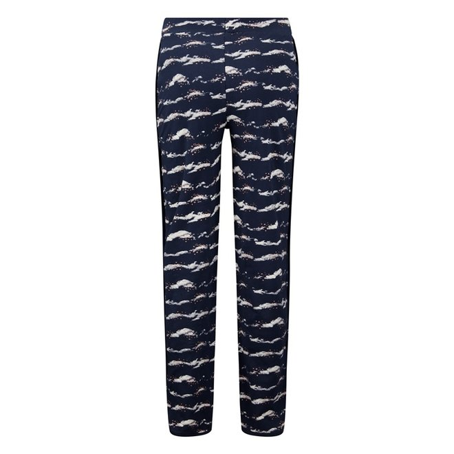 Charlie Choe Ladies Pyjama Pants Blue Clouds