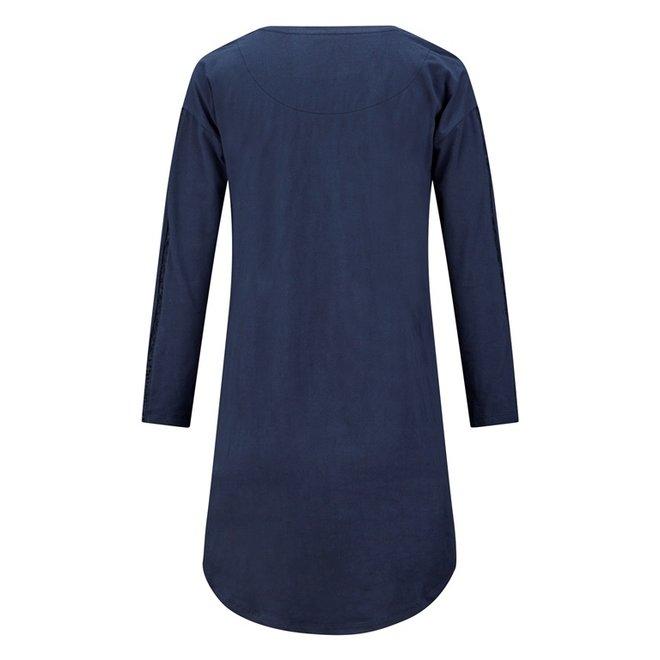 Charlie Choe Ladies Nightshirt Bigshirt Blue