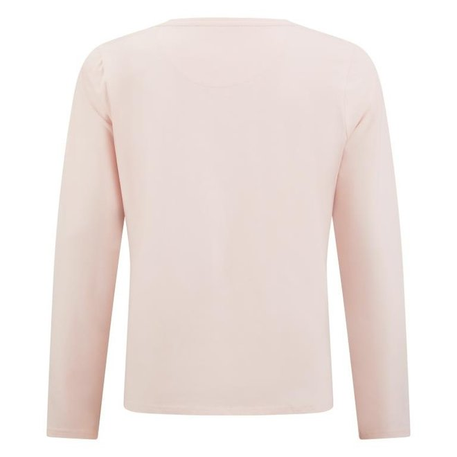 Charlie Choe Damen Pyjama Shirt Rosa