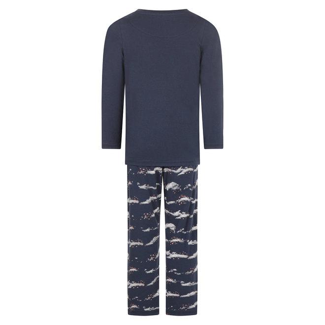 Charlie Choe Mädchen Pyjamas Blaue Wolken