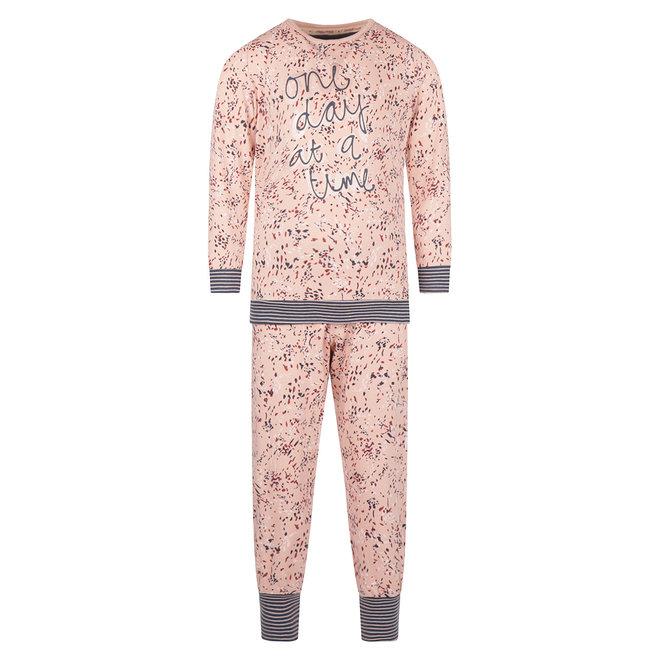 Charlie Choe Baby Mädchen Pyjama Set Rosa