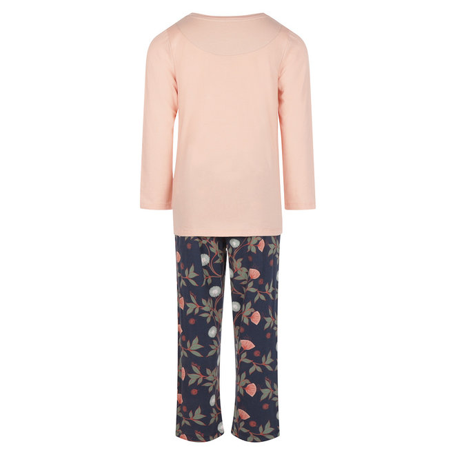 Charlie Choe Girls Pyjamas Pink Blue Flowers