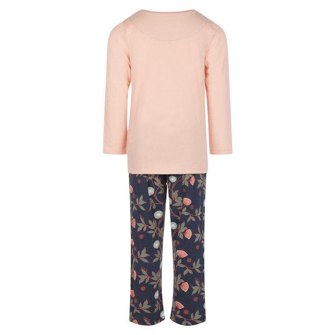 Charlie Choe Mädchen Pyjamas Rosa Blau Blumen