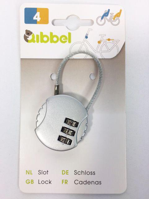 Zeer Qibbel mini kabelslot met cijfercode - Fietsslot.nl HA61