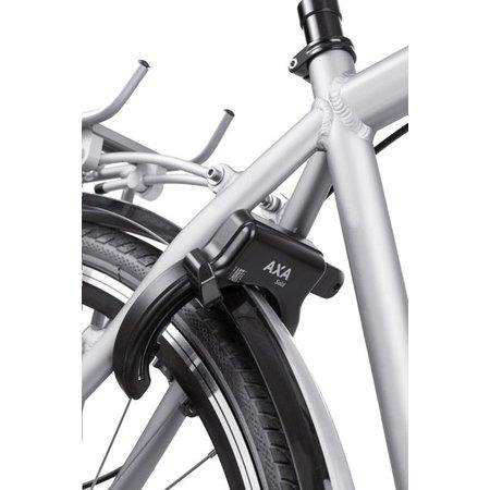 AXA Ringslot Solid Zwart - ergonomisch - met brede opening - gelijksluitend