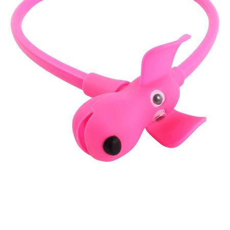 Kabelslot Flappie de Waakhond 58 cm Roze