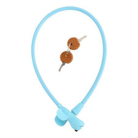Kabelslot Flappie de Waakhond 58 cm Blauw
