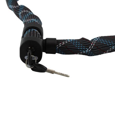 ABUS Kettingslot Ivera Chain 7210 Color 85cm Grijs