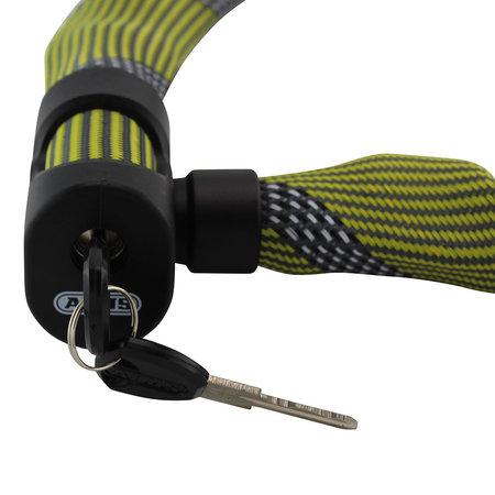 ABUS Kettingslot Ivera Chain 7210 Color 110 cm Geel