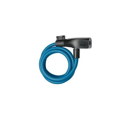 AXA Kabelslot Resolute 8-120 Petrol Blue
