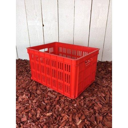 Edge Fietskrat Urban Crate 26L Rood
