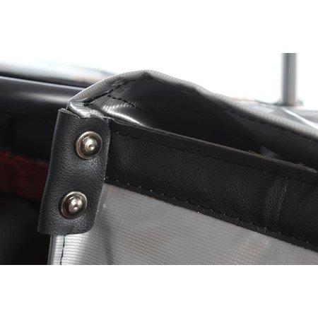 De Poort Luxe XL Zilver 55L