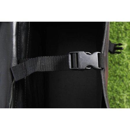 De Poort Luxe XL Zwart 55L