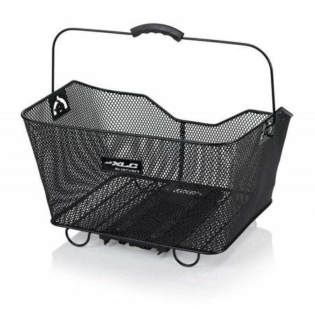 XLC Fietsmand  CarryMore Staal Zwart– voor op de bagagedrager