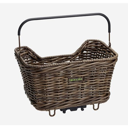 Racktime Baskit Willow Rattan-look 20L Donkerbruin