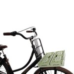 Inklapbare fietsmanden en fietskratten