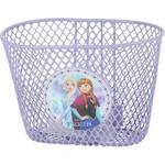 Fietsmand met Frozen erop - én de Frozen fietsbellen plus poppenzitjes!