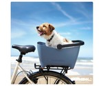 Hond, kat, poes, konijn mee op fiets