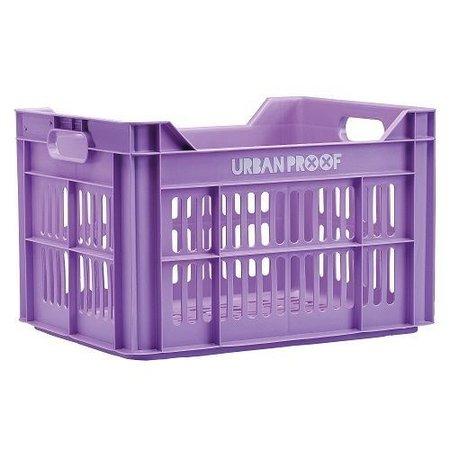 Urban Proof Fietskrat 30L Pastel Violet