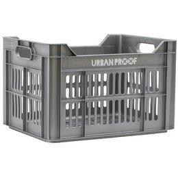 Urban Proof Fietskrat 30L Silver