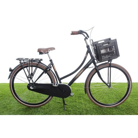 Urban Proof Fietskrat 30L Dark Brown