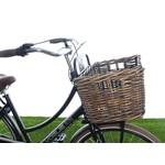Goedkope rieten fietsmanden