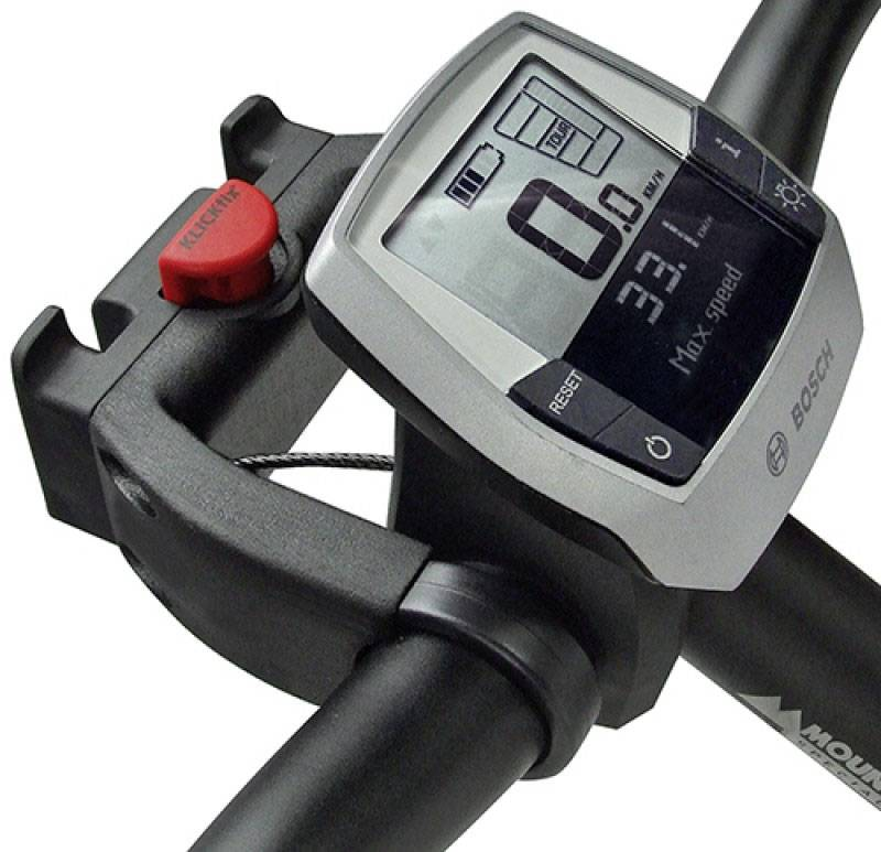Adapter voor fietsmand op elektrische fiets
