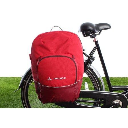Vaude Enkele fietstas Cycle 28 Salsa 28L Rood